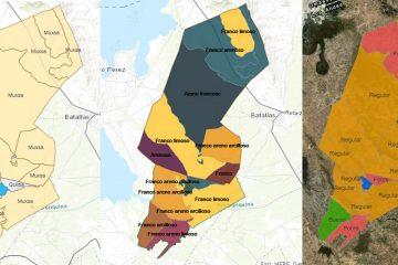Caracterización participativa del estado de suelos en cuatro comunidades